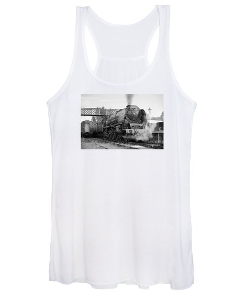The Royal Scot In Black And White Women's Tank Top