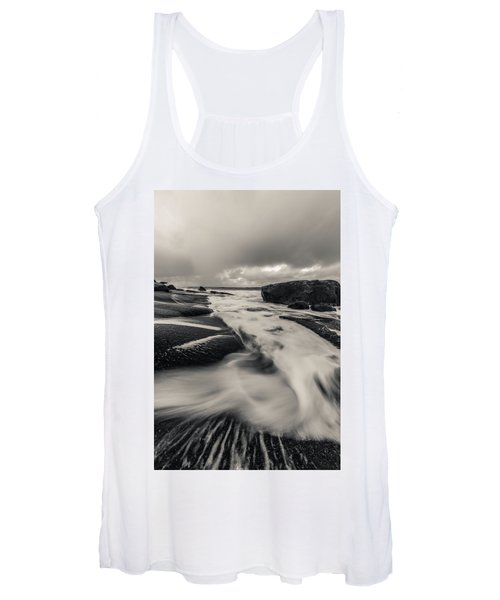 The Rush Of The North Sea Women's Tank Top