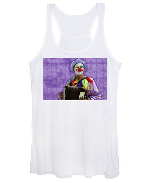 The Sad Clown Women's Tank Top