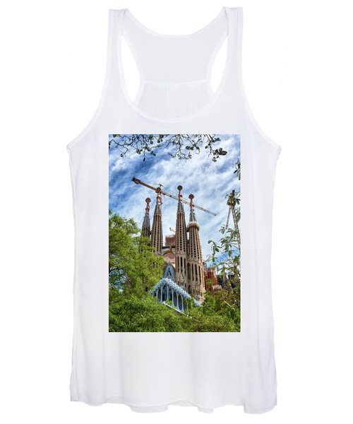 The Sagrada Familia Women's Tank Top