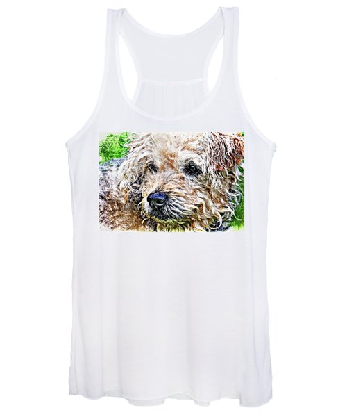 The Scruffiest Dog In The World Women's Tank Top
