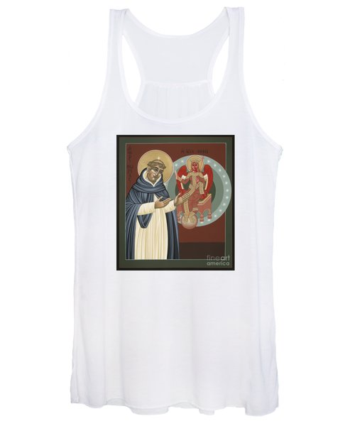 The Silence Of St Thomas Aquinas 097 Women's Tank Top