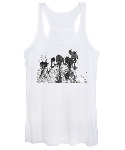 Unmeaning Stains On The Road  11. 5 Ocrober, 2015 Women's Tank Top