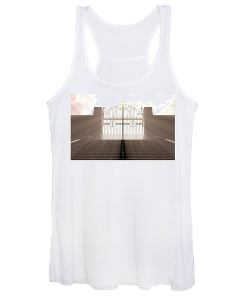 The Stairs To Heavens Gates Women's Tank Top