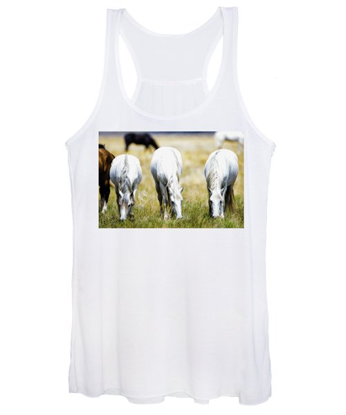The Three Amigos Grazing Women's Tank Top