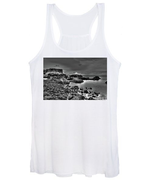 The Tide Pools At Hellnar At Low Tid Women's Tank Top