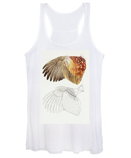 The Upper Side Of The Pheasant Wing Women's Tank Top