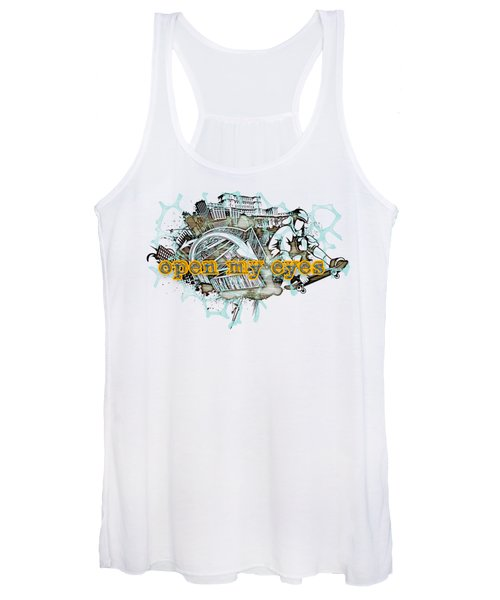 The Vail Is Upon Their Heart.  Women's Tank Top