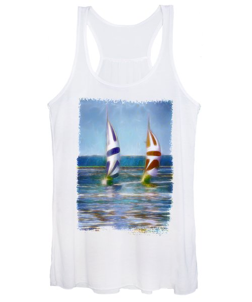 The Wind In Your Sails Women's Tank Top