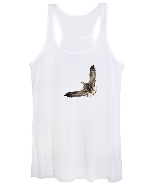 The Wings Of An Eagle 2018 Isolated Women's Tank Top