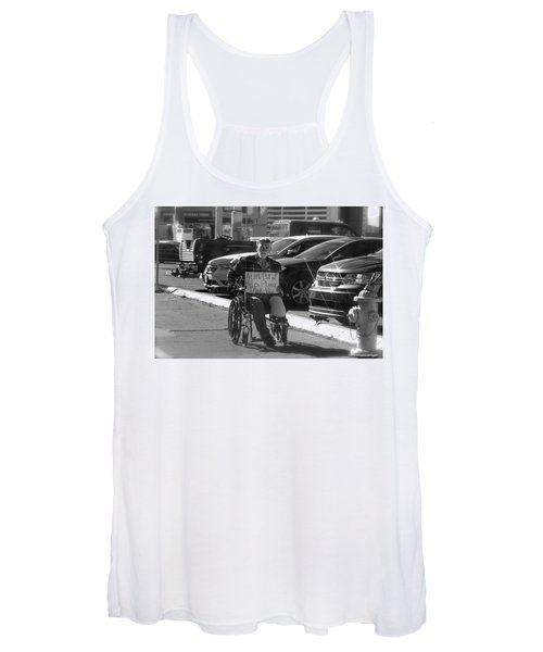 The World Is A Ghetto Women's Tank Top
