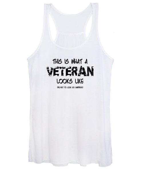 This Is What A Veteran Looks Like Women's Tank Top