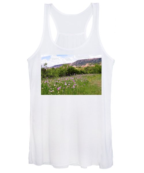 Thistles In The Canyon Women's Tank Top