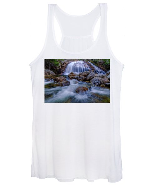 Thompson Falls, Pinkham Notch, Nh Women's Tank Top