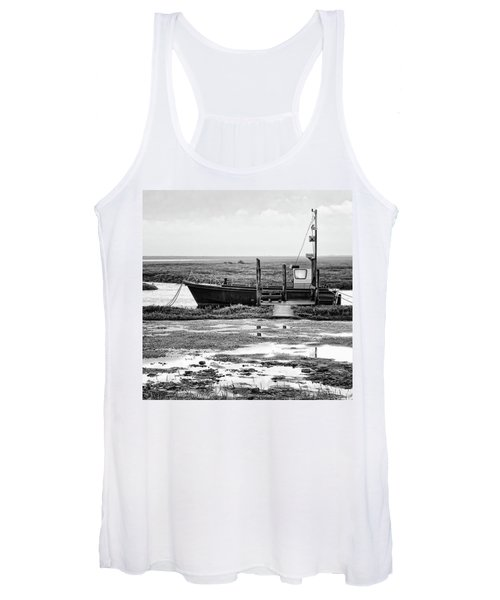 Thornham Harbour, North Norfolk Women's Tank Top