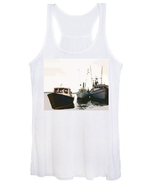 Three Boats Women's Tank Top