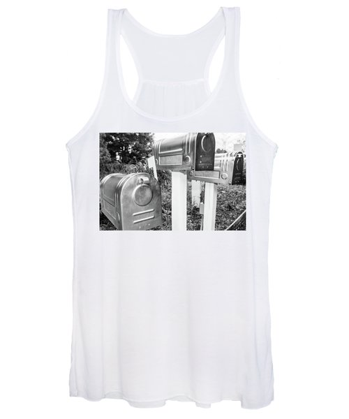 Three Mailboxes Women's Tank Top