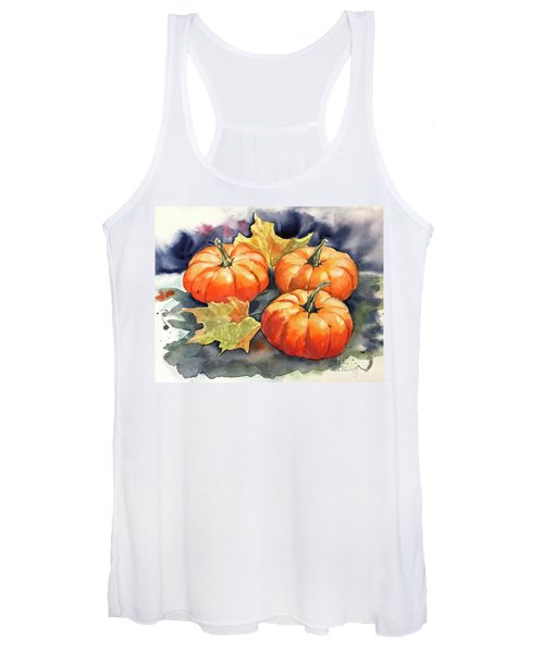 Three Pumpkins Women's Tank Top