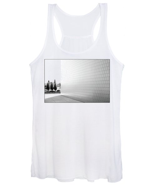 Three Trees And A Wall Women's Tank Top
