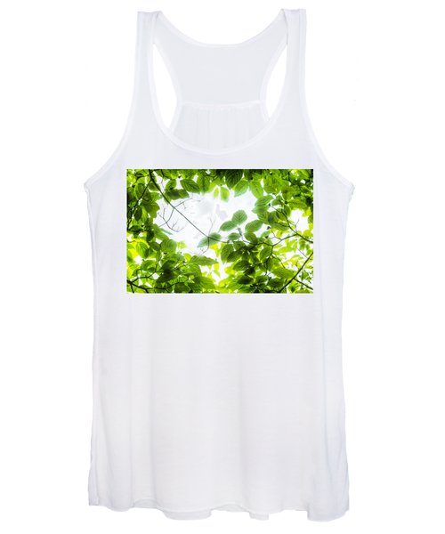 Through The Leaves Women's Tank Top