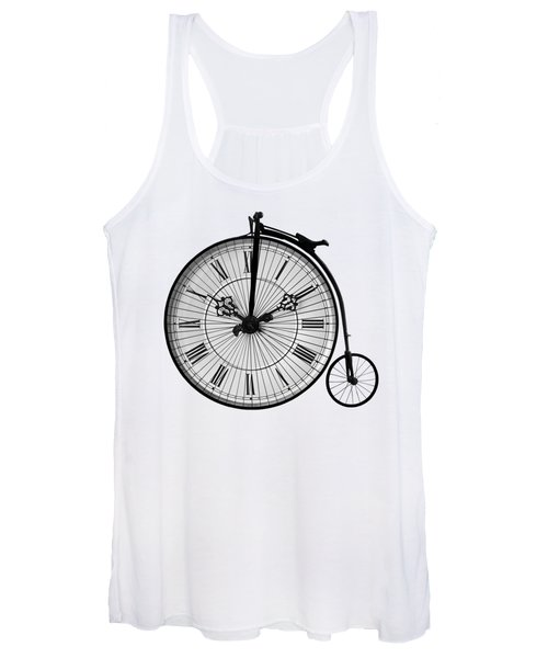 Time To Ride Penny Farthing Women's Tank Top