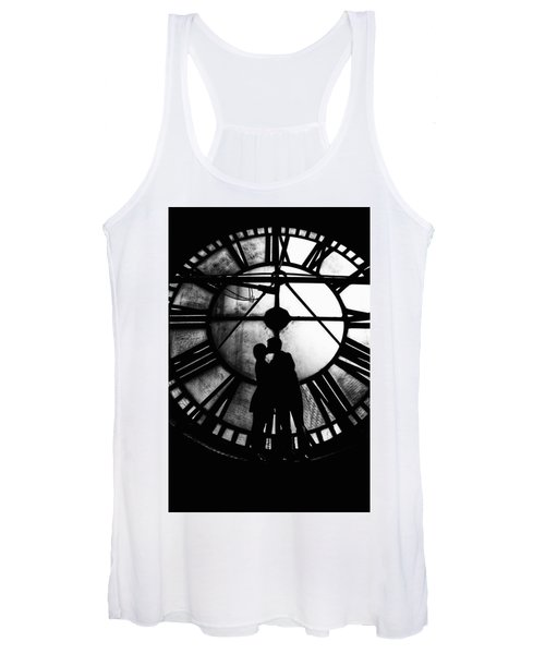 Timeless Love - Black And White Women's Tank Top