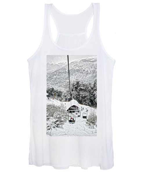 To The Land Of Frozen Dreams In The Argentine Patagonia Women's Tank Top