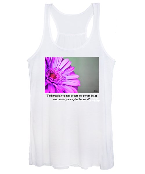 To The World Women's Tank Top