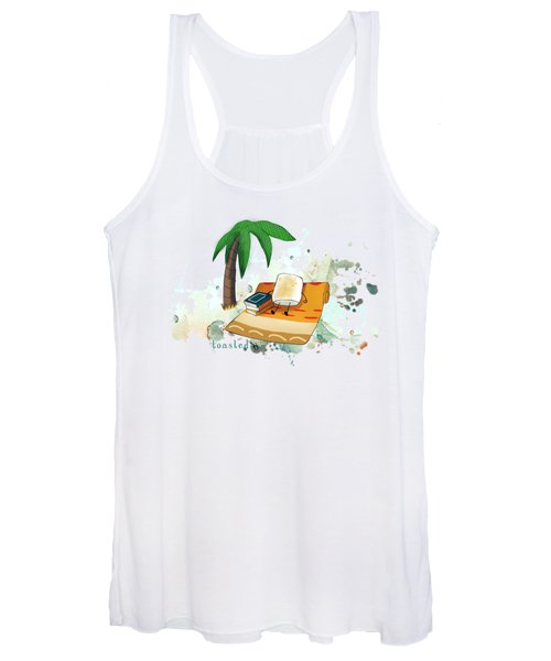 Toasted Illustrated Women's Tank Top