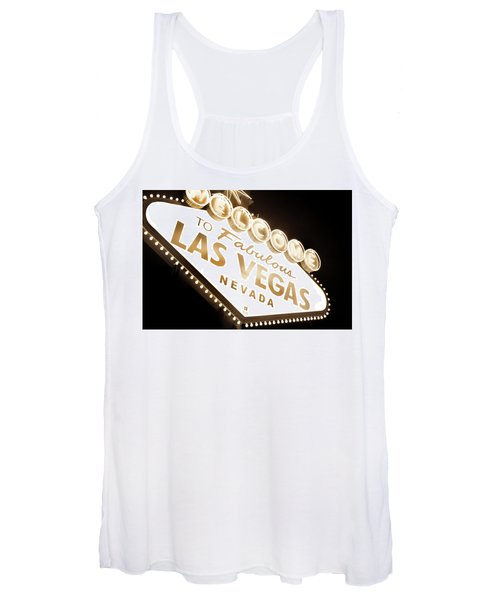 Tonight In Vegas Women's Tank Top