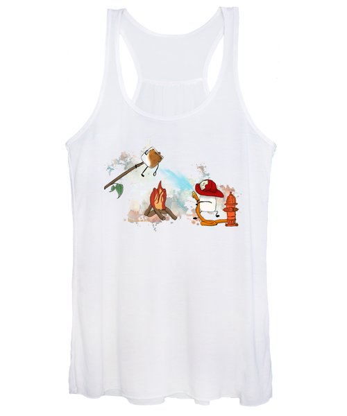 Too Toasted Illustrated Women's Tank Top