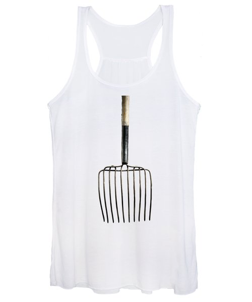 Tools On Wood 25 On Bw Women's Tank Top