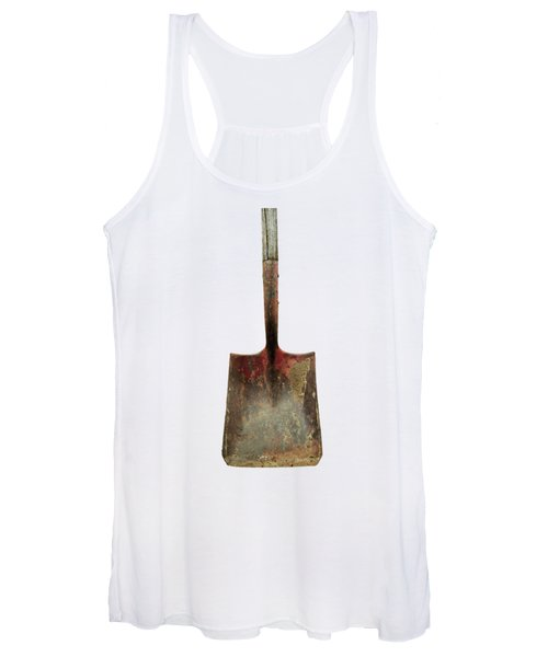 Tools On Wood 3 On Bw Plywood Women's Tank Top