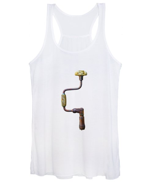 Tools On Wood 61 Women's Tank Top