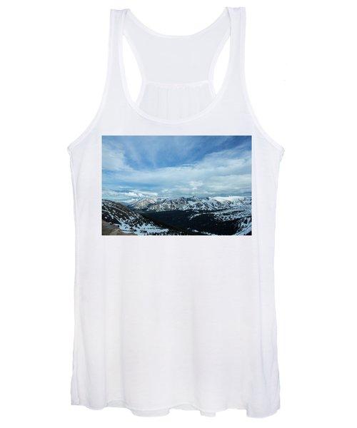 Top Of The Rockies Women's Tank Top