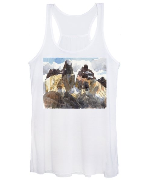 Torres Del Paine, Chile Women's Tank Top