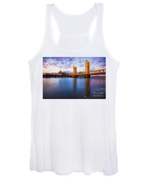Tower Bridge Sacramento 3 Women's Tank Top