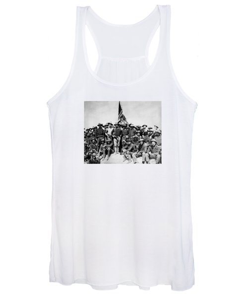 Tr And The Rough Riders Women's Tank Top