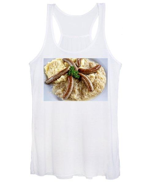 Traditional German Food Women's Tank Top