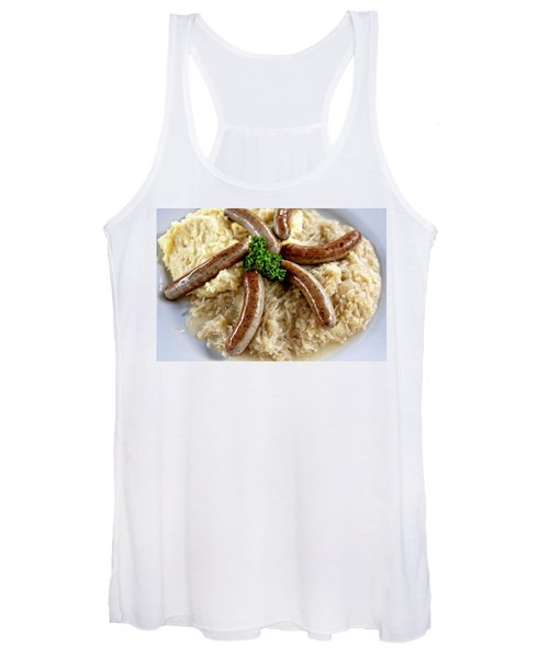 Traditional German Food Women's Tank Top