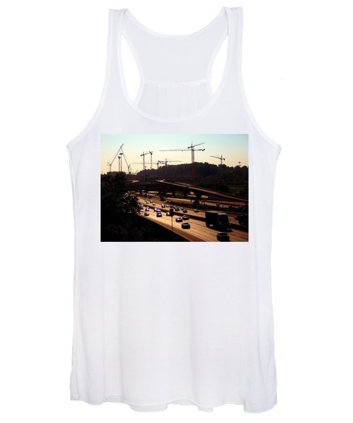 Traffic And Cranes Women's Tank Top