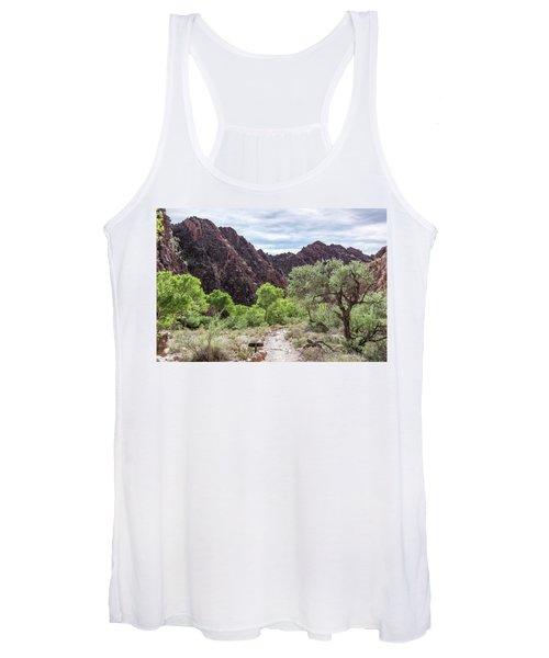 Trail Into Phantom Ranch, Grand Canyon Women's Tank Top