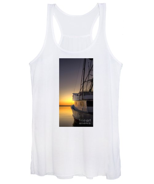Tranquility On The Bay Women's Tank Top