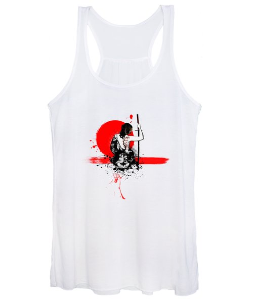 Trash Polka - Female Samurai Women's Tank Top