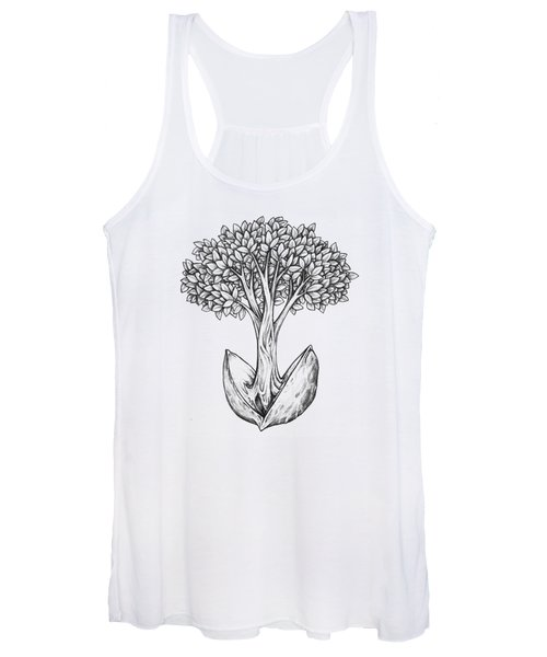 Tree From Seed Women's Tank Top