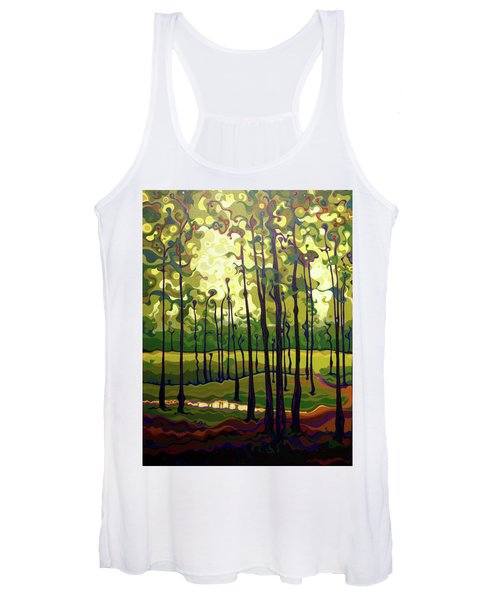 Treecentric Summer Glow Women's Tank Top