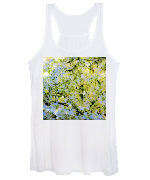 Trees And Leaves Women's Tank Top