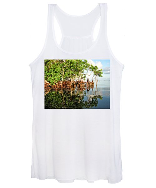 Trees In The Sea Women's Tank Top