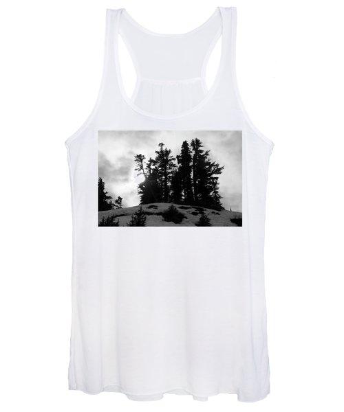 Trees Silhouettes Women's Tank Top