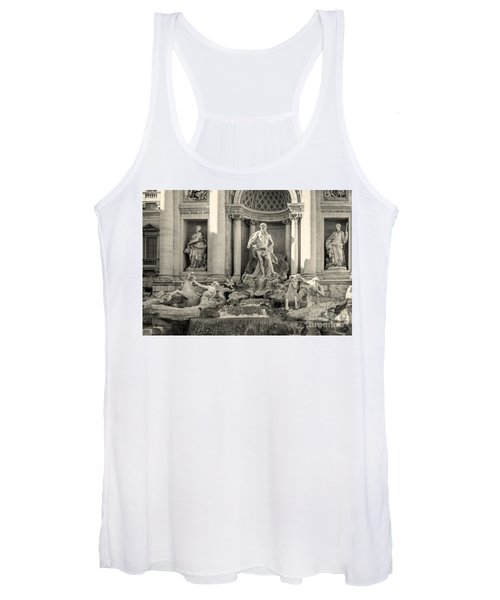 Trevi Fountain Women's Tank Top